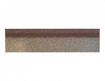 Карнизно-коньковая черепица Шинглас, цвет аликанте