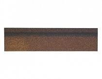 Карнизно-коньковая черепица Шинглас, цвет джайв коричневый