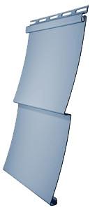 Сайдинг виниловый Docke D5C - ёлочка 3,050 м., цвет голубика
