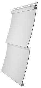 Сайдинг виниловый Docke D5C - ёлочка 3,050 м., цвет пломбир