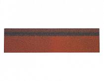 Карнизно-коньковая черепица Шинглас, цвет красный