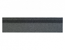 Карнизно-коньковая черепица Шинглас, цвет серый микс