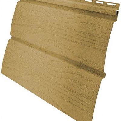 Сайдинг виниловый Гранд Лайн AMERIKA «Блок-хаус» D4,8 3,0 м., цвет бежевый