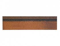 Карнизно-коньковая черепица Шинглас, цвет миндаль