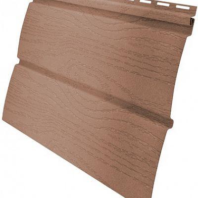 Сайдинг виниловый Гранд Лайн AMERIKA «Блок-хаус» D4,8 3,0 м., цвет темно-бежевый