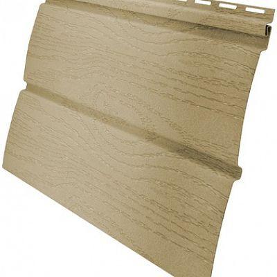 Сайдинг виниловый Гранд Лайн AMERIKA «Блок-хаус» D4,8 3,0 м., цвет ванильный