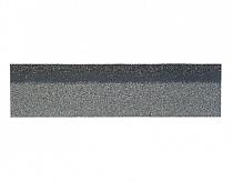 Карнизно-коньковая черепица Шинглас, цвет неро