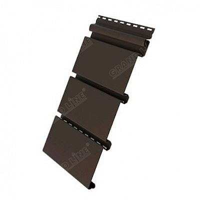 Premium софит со скрытой перфорацией Grand Line «AMERIKA» 3,0 м., цвет коричневый