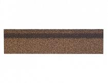 Карнизно-коньковая черепица Шинглас, цвет сандал