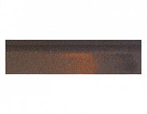Карнизно-коньковая черепица Шинглас, цвет севилья