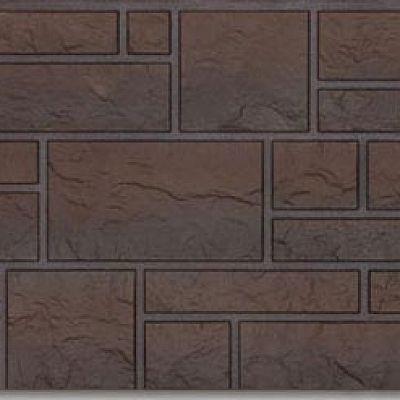 Фасадная панель Docke-R (Россия) BURG, цвет темный