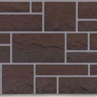 Фасадная панель Docke-R (Россия) BURG, цвет земляной