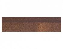 Карнизно-коньковая плитка Шинглас, цвет виски