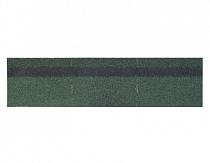 Карнизно-коньковая черепица Шинглас, цвет зеленый