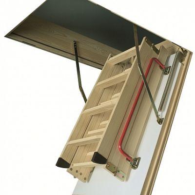 Чердачная лестница Факро Thermo LTK - 70x130x280 см.