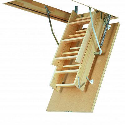 Чердачная лестница Факро LWS Plus - 60x130x305 см.