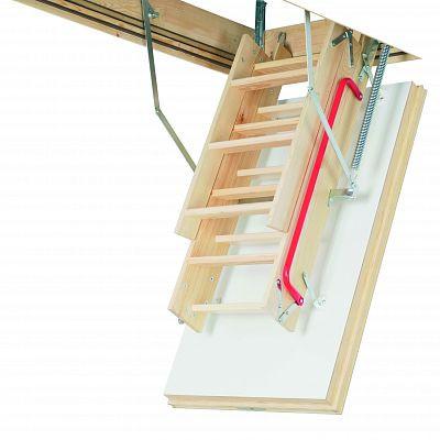 Чердачная лестница Факро Thermo LWT, размер 70x130x305 см.