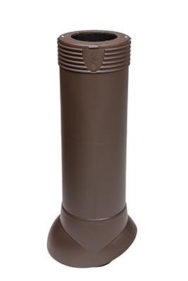 Вентиляционный выход Vilpe 110/ИЗ/500, цвет коричневый
