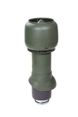 Вентиляционный выход Vilpe 125/ИЗ/500, цвет зеленый
