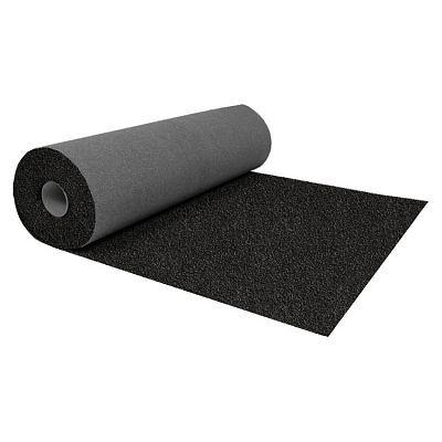 Ендовый ковер Катепал, цвет черный, рул. 1 x 10 м.