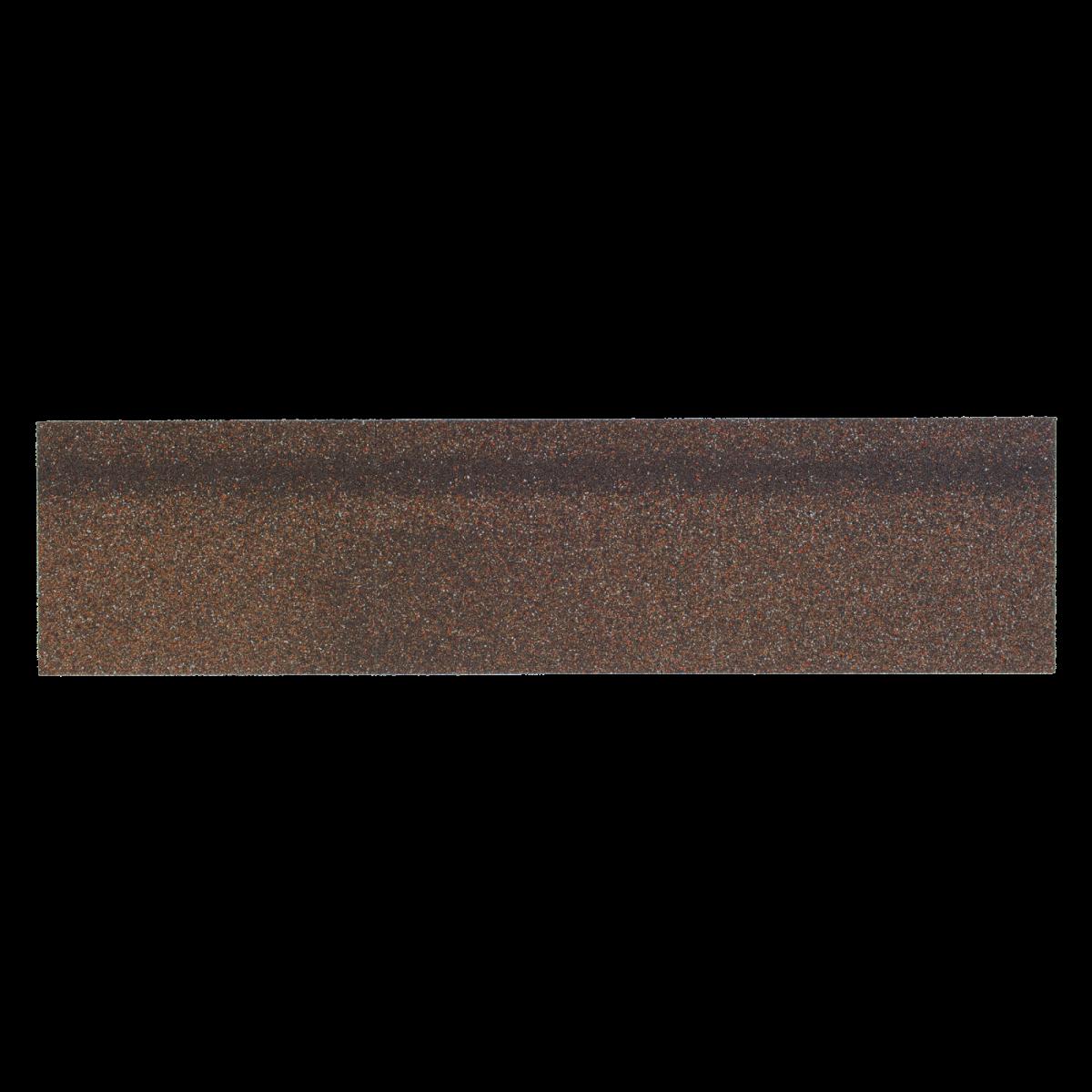Карнизно-коньковая черепица Шинглас, цвет алабама