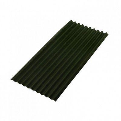 Лист Ондулин SMART Зеленый 1950х950мм.