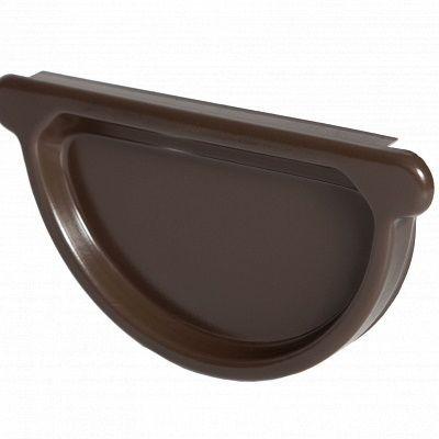 Заглушка универсальная с резиновым уплотнителем «Аквасистем» 90x125 цвет темно-коричневый RR 32