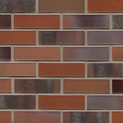Клинкерная плитка Feldhaus Klinker (Германия) Carbona R560NF14 carmesi colori