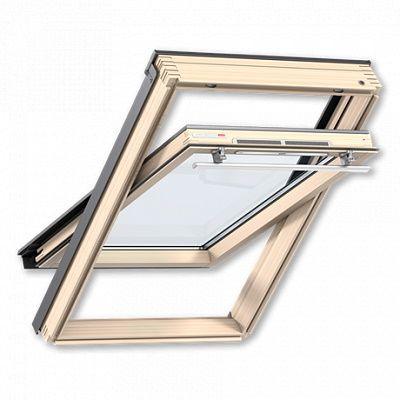 Мансардное окно Велюкс GZR 3061 MR06 - ручка сверху, размер 78х118 см.