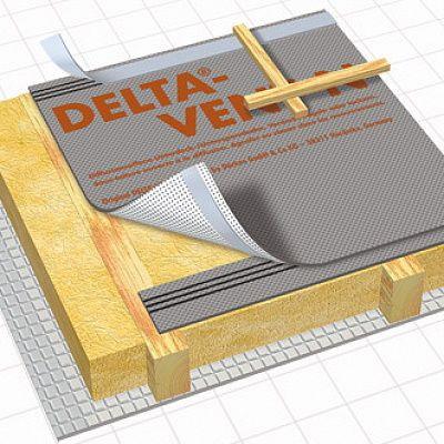Диффузионная трех-слойная мембрана DELTA VENT N PLUS